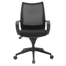 Sweetwater Mid-Back Mesh Task Chair with Arms