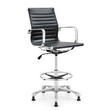 Joplin Height Adjustable Stool with Arms