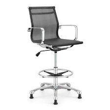 Baez Height Adjustable Stool with Arms
