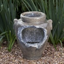 Mains Free Features Stone Urn Waterfall Fountain