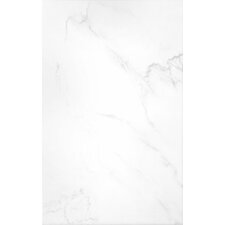 Elgin 39.8cm x 24.8cm Ceramic Field Tile in White