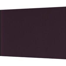 Impact Aubergine 75cm x 90cm Glass Tile in Aubergine