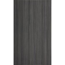 Willow 39.8cm x 24.8cm Ceramic Field Tile in Dark Grey