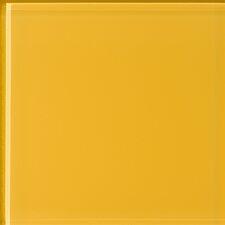 Impact Mustard 14cm x 60cm Glass Tile in Mustard