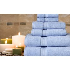 Luxe Pure Quality Cotton 6 Piece Towel Set