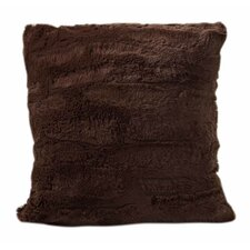 Luxe Faux Fur Throw Pillow