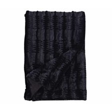 Luxe Embossed Throw Blanket