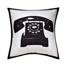 Swift Home Fun Telephone Decorative Throw Pillow