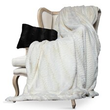 Luxe Mink Fur Throw Blanket
