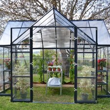 Chalet Twin Wall 12 Ft. W x 10 Ft. D Polycarbonate Greenhouse