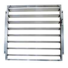 Side Louver Window Shutters