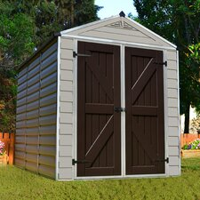 SkyLight™ 6 Ft. W x 8 Ft. D Polycarbonate Storage Shed