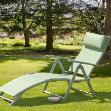 Bari Reclining Sun Lounger with Headrest