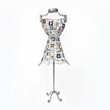 "60"" H Decorative Iron Dress Form Statue"