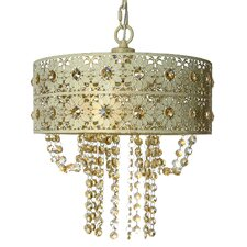 Jeweled Blossoms Chandelier