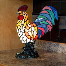 "Red Rooster 15.5"" Table Lamp"