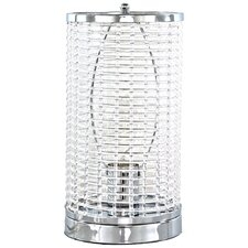 """Acrylic Caged Uplight 12.38"""" Table Lamp"""