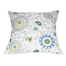 Floral Decorative I Throw Pillow