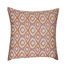 Ikat Diamonds Decorative Throw Pillow