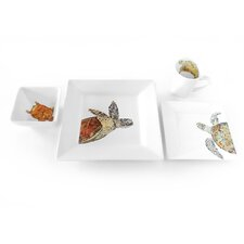 Turtle 4 Piece Place Setting