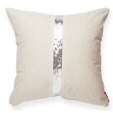 Luxury Cross Sequin Linen Throw Pillow