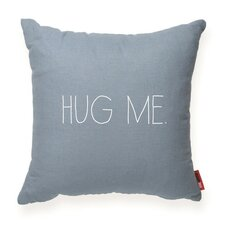 "Expressive ""Hug Me"" Decorative Throw Pillow"