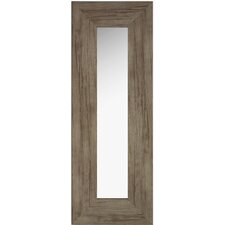 Washed Wood Long Accent Mirror (Set of 5)