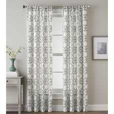 Lotus Harmony Single Curtain Panel