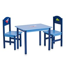 3-Piece Boys Children Seating Set