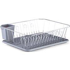 Geschirrabtropfständer in Grau