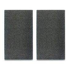 2-tlg. Herdabdeck-/ Schneideplatten-Set Granit