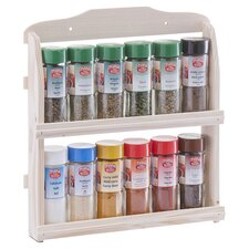 Spice Rack with 12 Spices