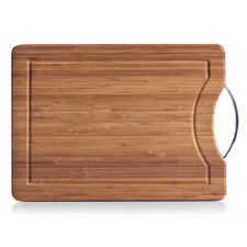 40cm x 28cm Cutting Board with Juice Groove and Handle