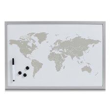 Magnet-/ Schreibtafel World