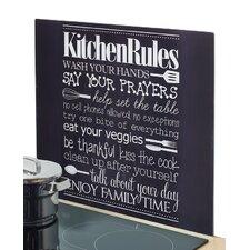 Herdblende-/ Abdeckplatte Kitchen Rules