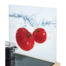 Herdblende-/ Abdeckplatte Tomato Splash