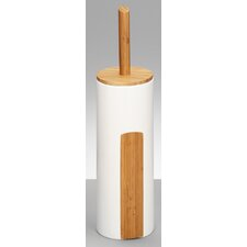 Stone Freestanding Toilet Brush and Holder