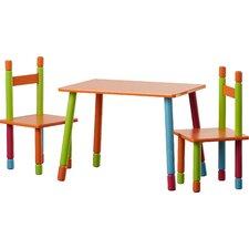 3-tlg. Kinder-Sitzgarnitur Color aus MDF