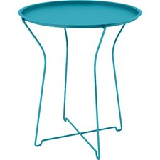 Metal Tray End Table