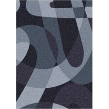 Modern Times Element Ebony Area Rug