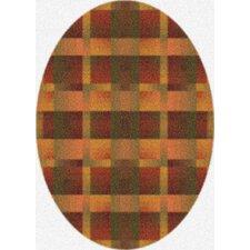 Modern Times Aura Fall Orange Area Rug