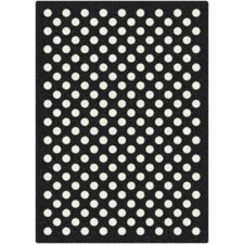 Eclipse Nightfall Black/White Area Rug