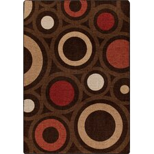 Mix and Mingle Chocolate in Focus Rug