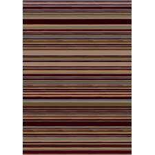 Innovation Lola Dark Chocolate Striped Area Rug