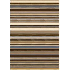 Innovation Lola Dark Amber Striped Area Rug
