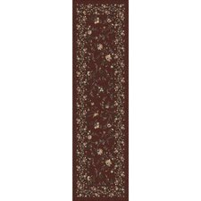 Pastiche Hampshire Floral Rust Runner