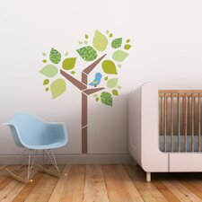 Tree with Birdie Wall Decal