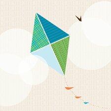 Flying Kite Wall Art