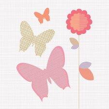 Butterfly Bloom Wall Art