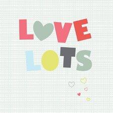 Love Lots Paper Print